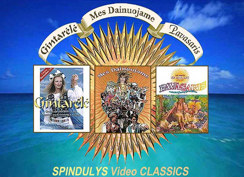 Spindulys Classics contain Mes Dainuojame, Gintarele, Parasaris and Bloopers!