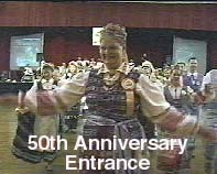 50th Anniversary Entrance with Spindulys